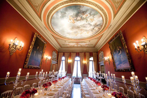 Castello Papadopoli Giol, Wedding